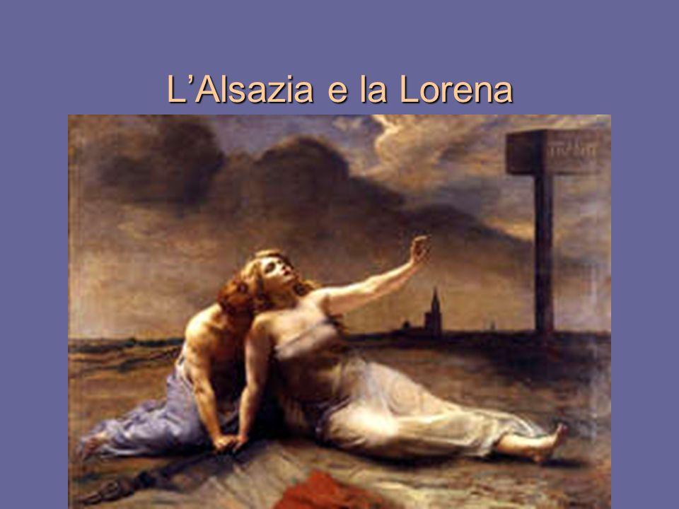 L'Alsazia e la Lorena