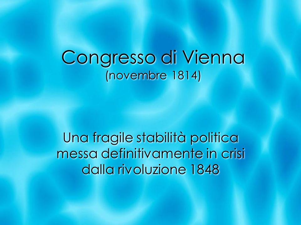 Congresso di Vienna (novembre 1814)