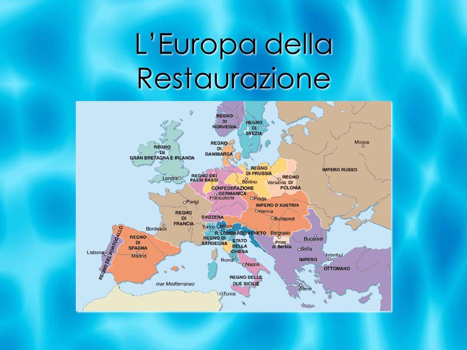 L'Europa della Restaurazione