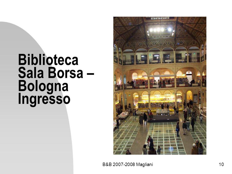 Biblioteca Sala Borsa – Bologna Ingresso