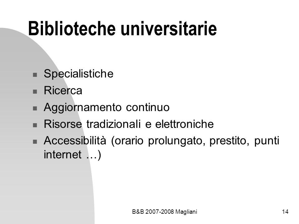 Biblioteche universitarie