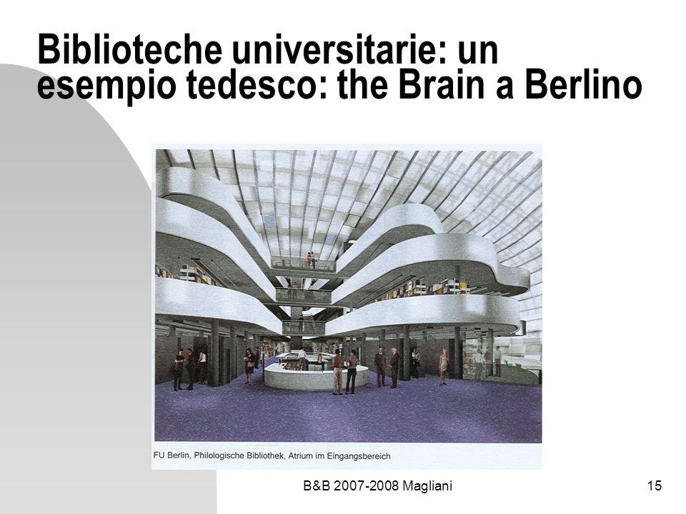 Biblioteche universitarie: un esempio tedesco: the Brain a Berlino