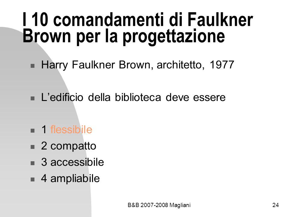 I 10 comandamenti di Faulkner Brown per la progettazione