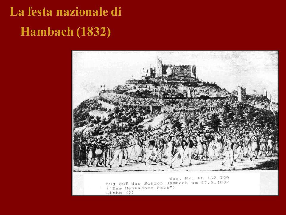 La festa nazionale di Hambach (1832)