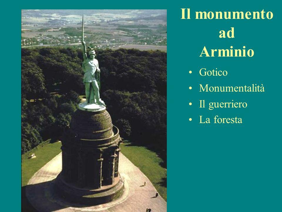 Il monumento ad Arminio