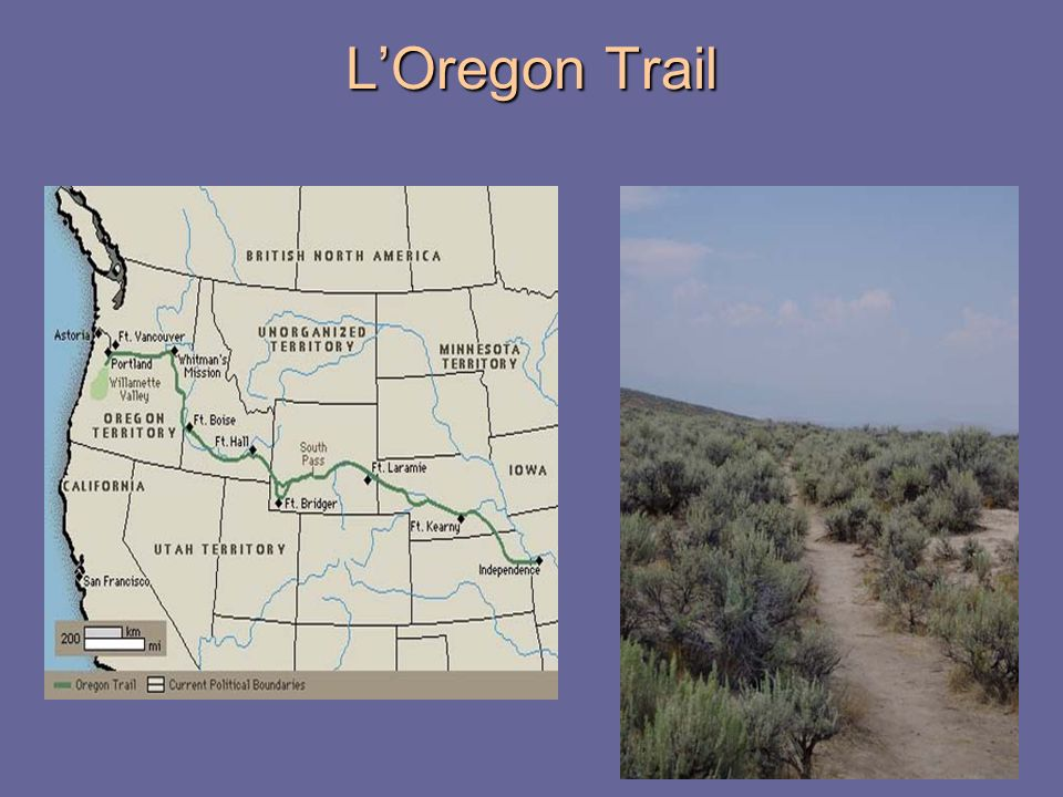L'Oregon Trail
