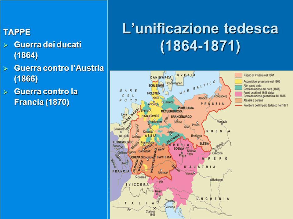 L'unificazione tedesca (1864-1871)
