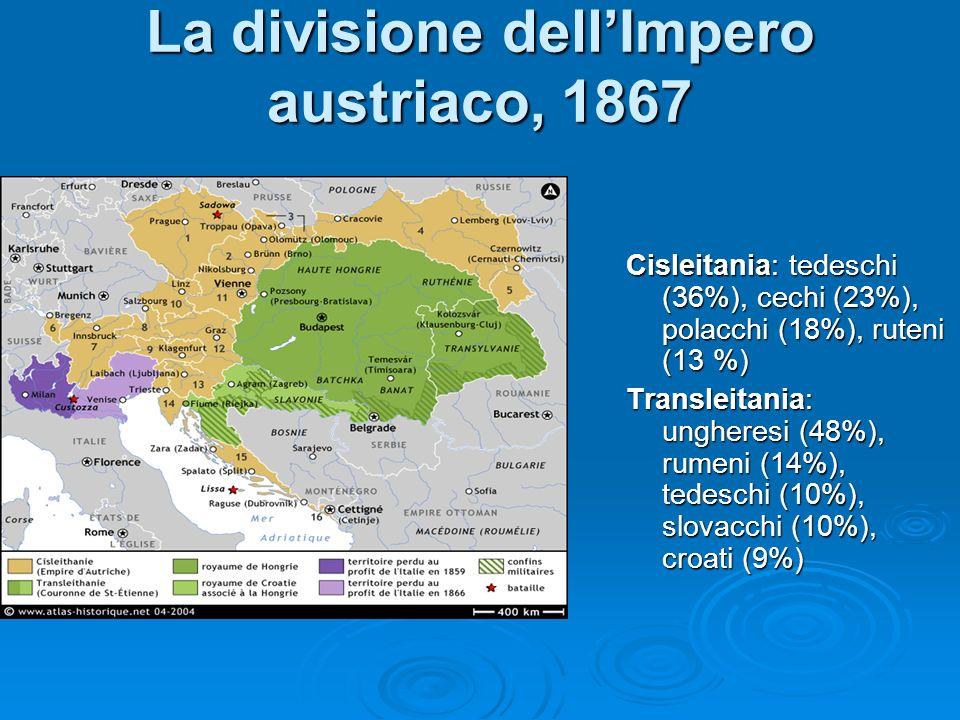 La divisione dell'Impero austriaco, 1867