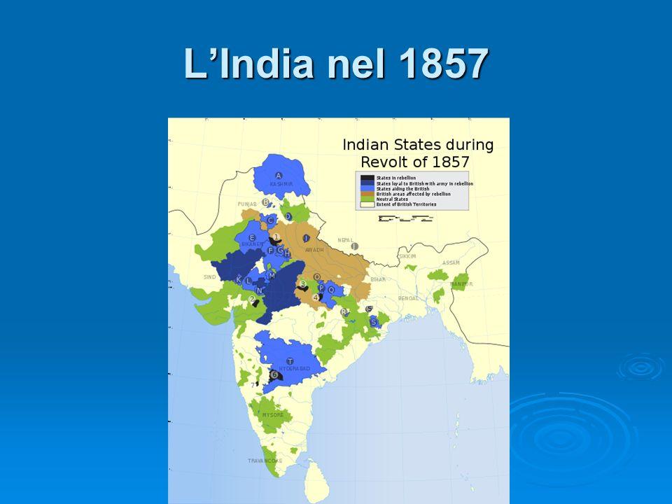 L'India nel 1857