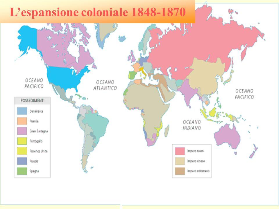 L'espansione coloniale 1848-1870