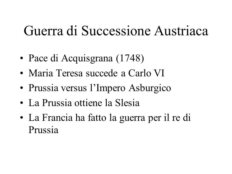 Guerra di Successione Austriaca