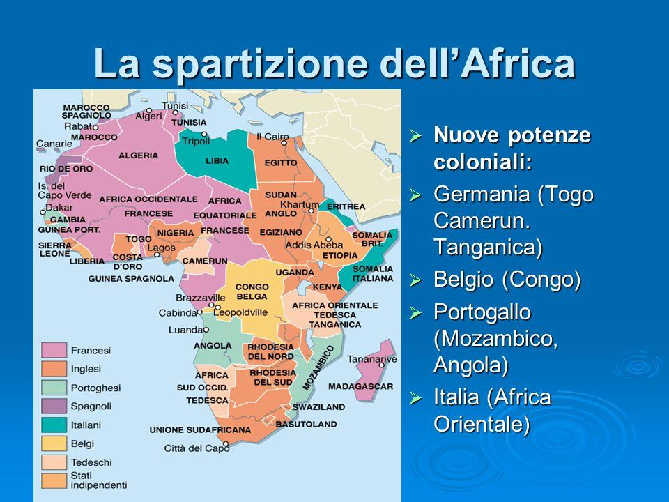 La spartizione dell'Africa