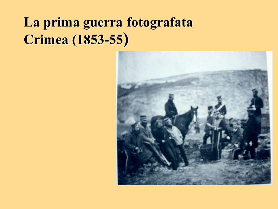 La prima guerra fotografata Crimea (1853-55)