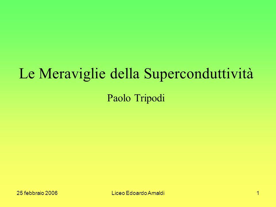 Le Meraviglie della Superconduttività