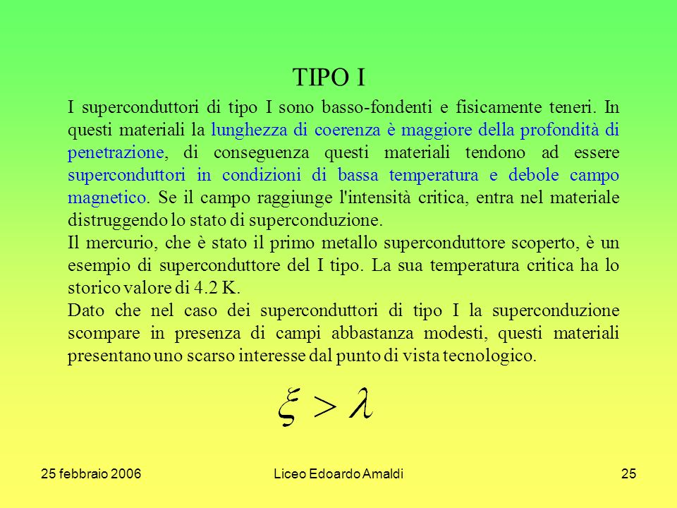 TIPO I