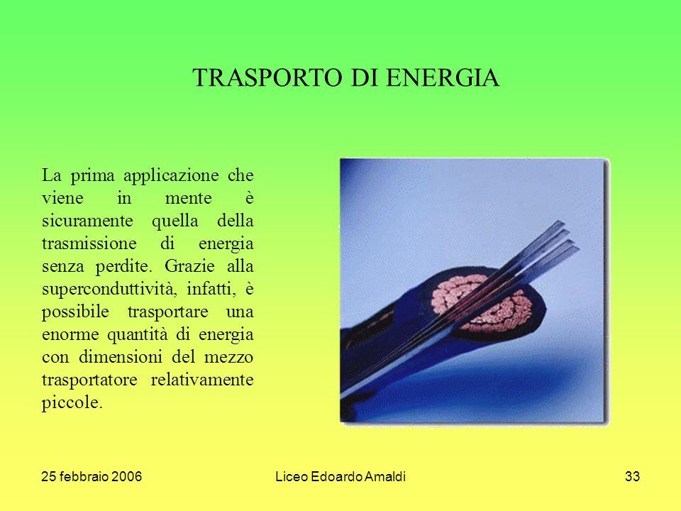 TRASPORTO DI ENERGIA