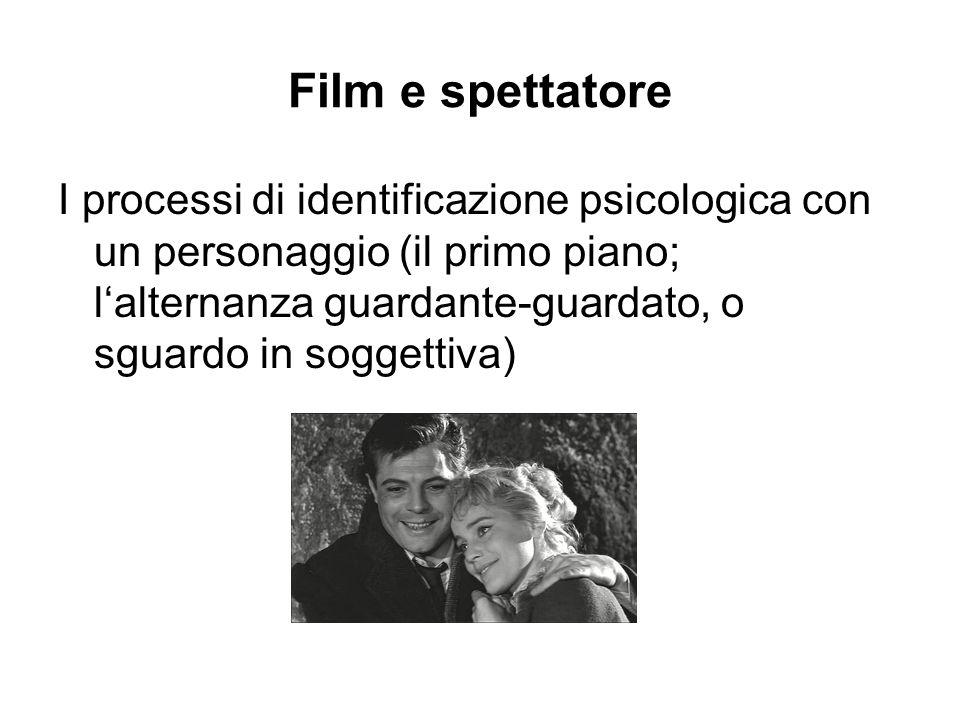 Film e spettatore