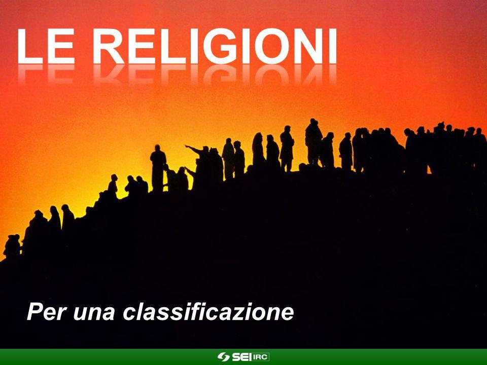 Le religioni Per una classificazione
