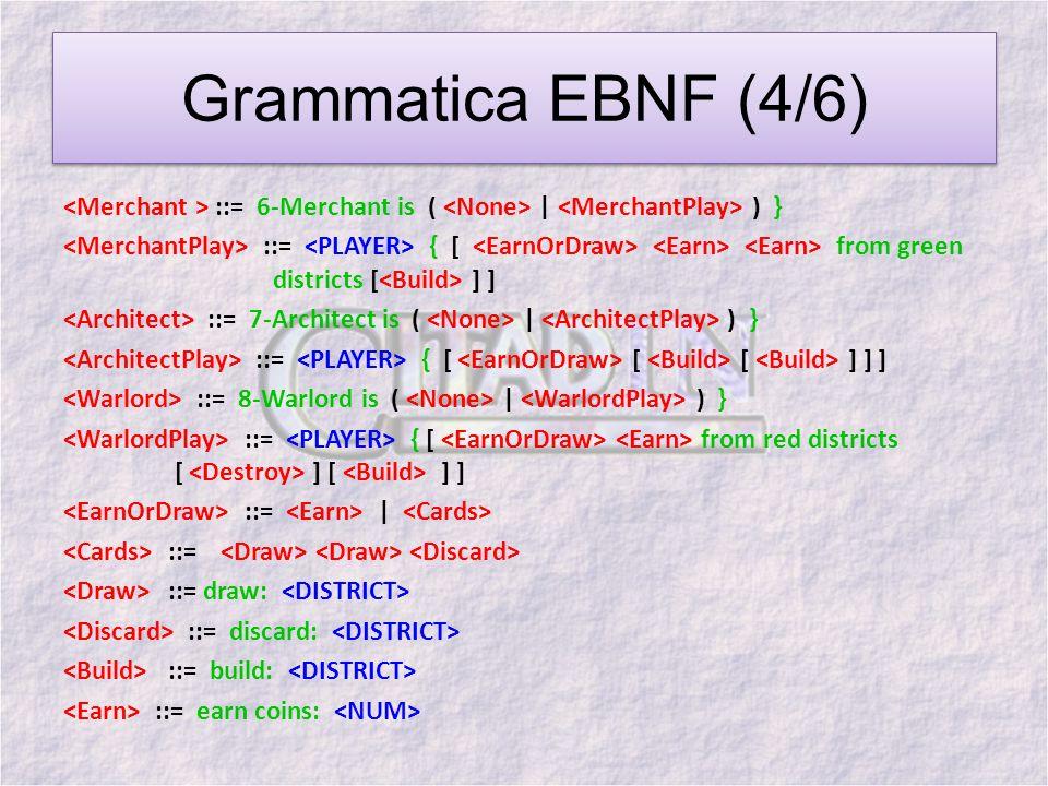 Grammatica EBNF (4/6)