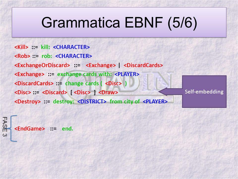 Grammatica EBNF (5/6)