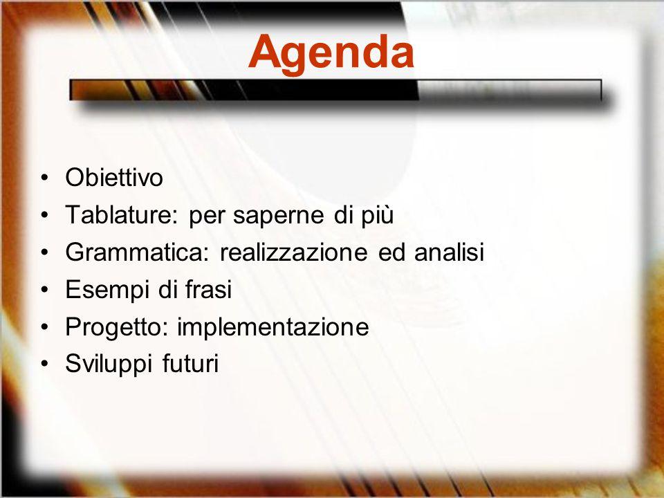 Agenda Obiettivo Tablature: per saperne di più
