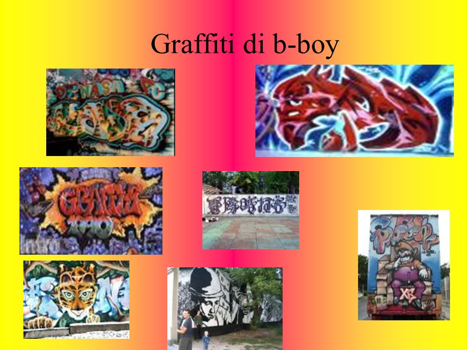 Graffiti di b-boy
