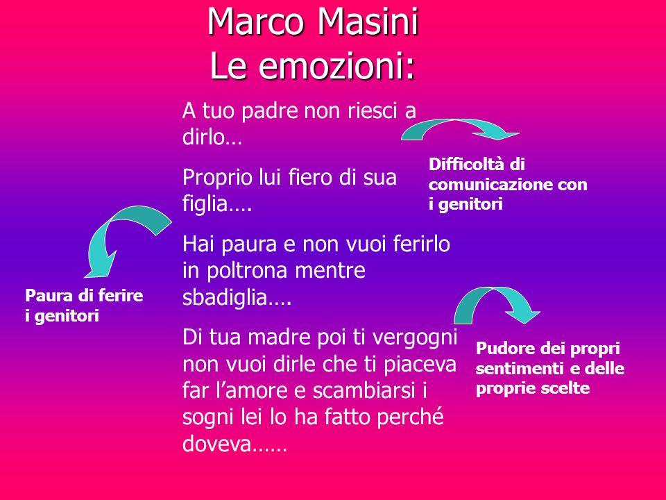 Marco Masini Le emozioni: