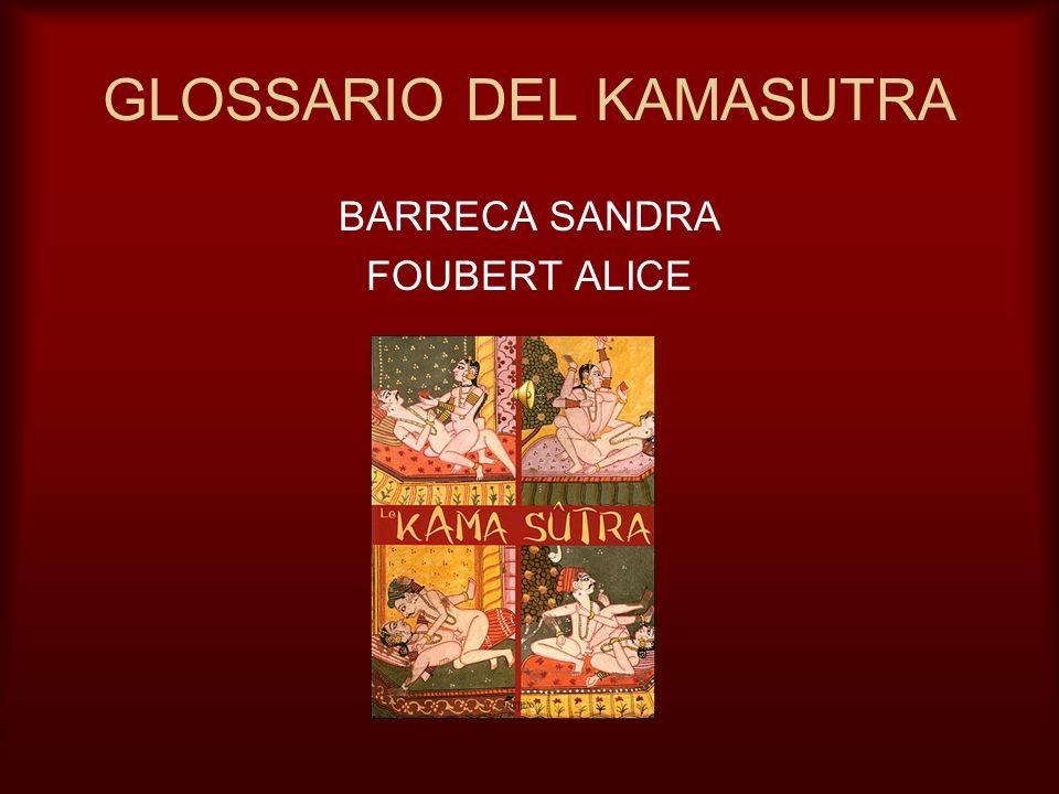 GLOSSARIO DEL KAMASUTRA