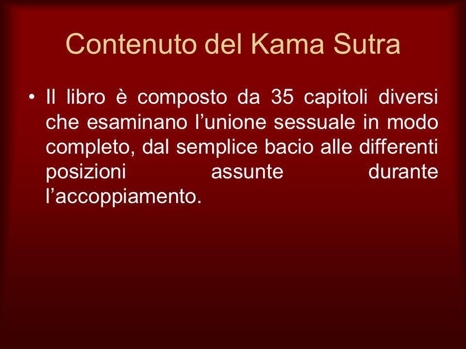 Contenuto del Kama Sutra