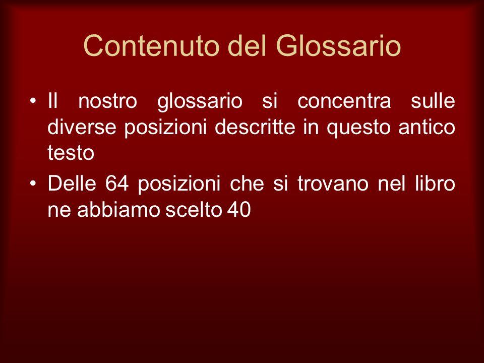 Contenuto del Glossario