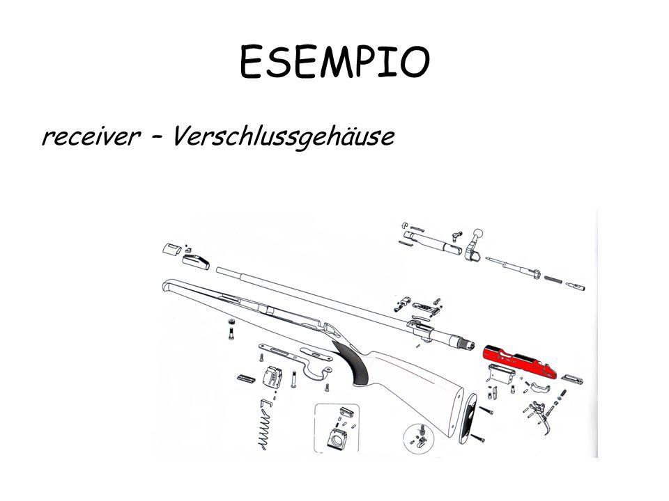 ESEMPIO receiver – Verschlussgehäuse