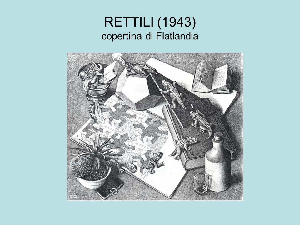 RETTILI (1943) copertina di Flatlandia