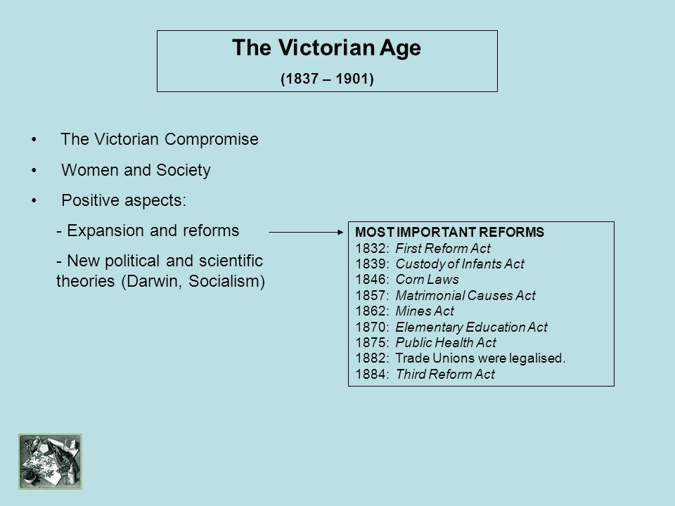 The Victorian Age The Victorian Compromise Women and Society
