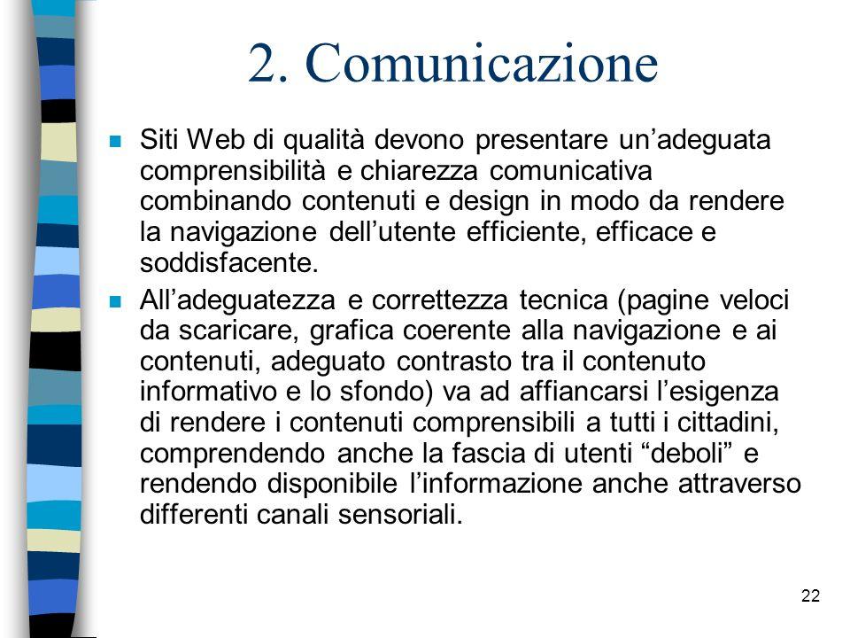 2. Comunicazione