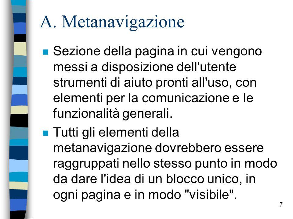 A. Metanavigazione