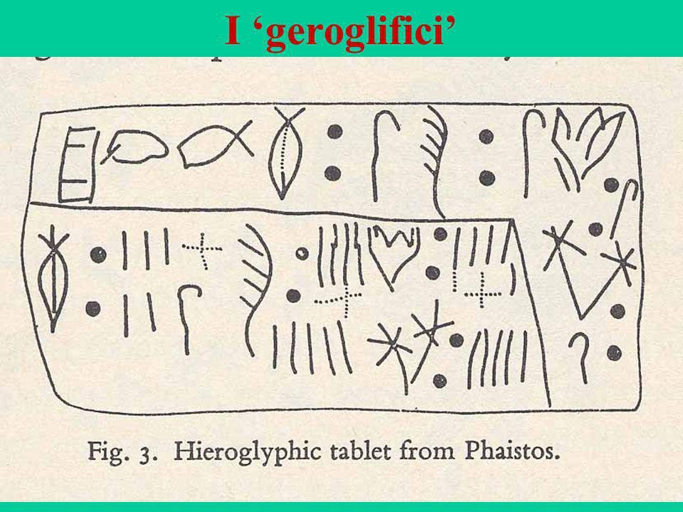 I 'geroglifici'