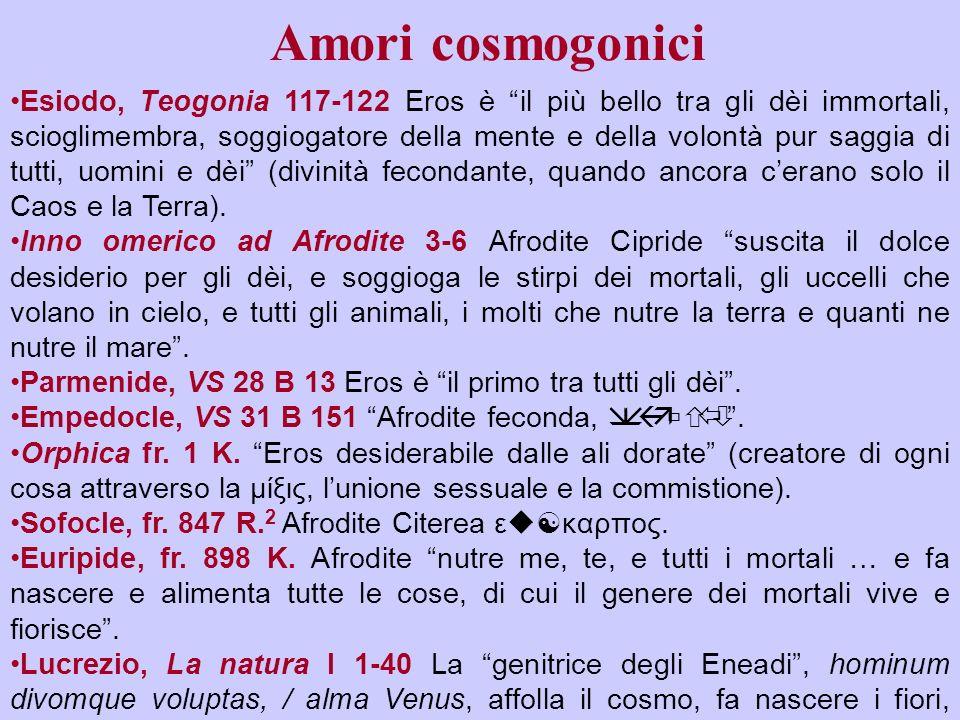 Amori cosmogonici