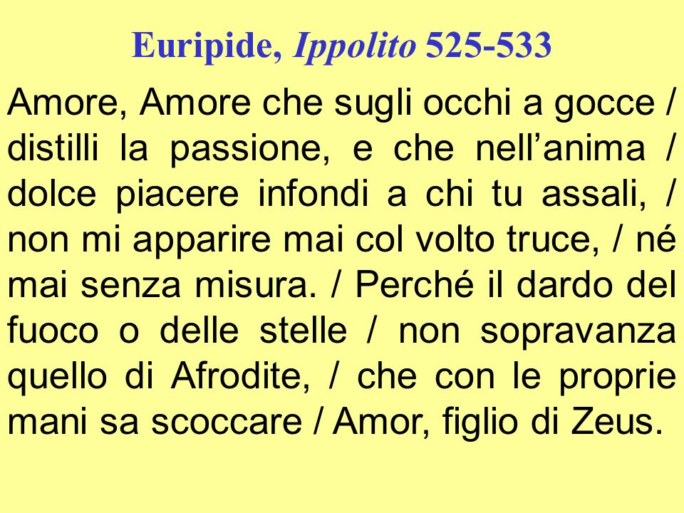 Euripide, Ippolito 525-533
