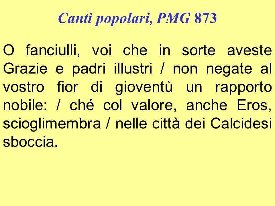 Canti popolari, PMG 873