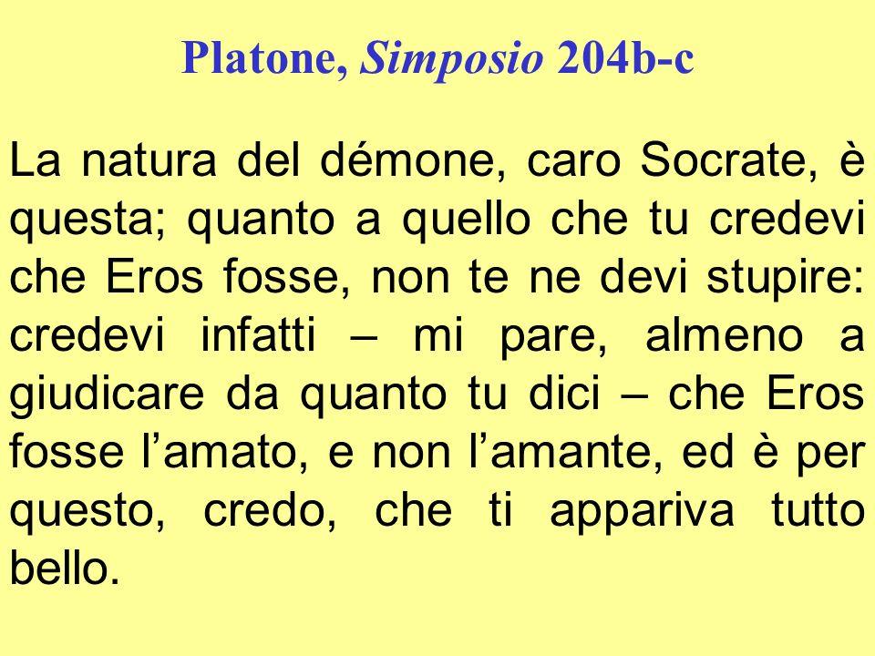 Platone, Simposio 204b-c