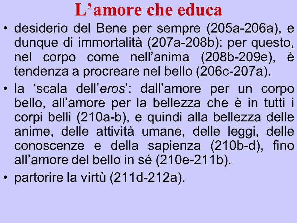 L'amore che educa