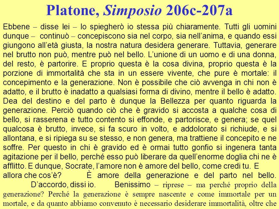 Platone, Simposio 206c-207a
