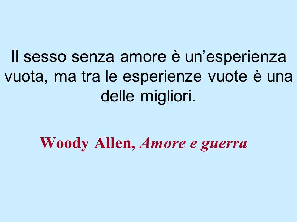 Woody Allen, Amore e guerra