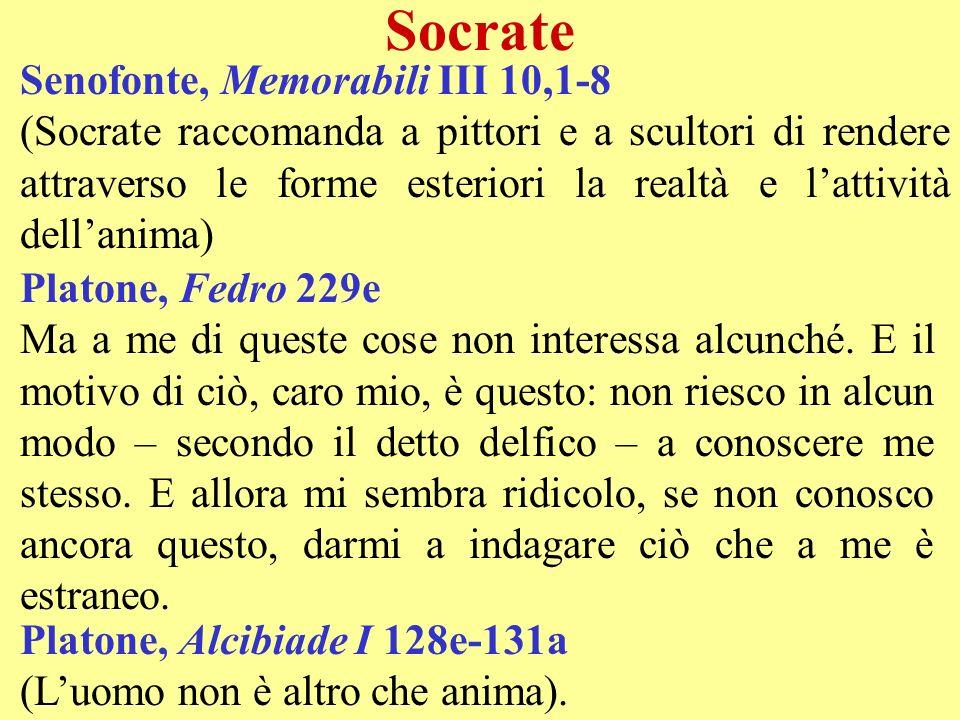 Socrate Senofonte, Memorabili III 10,1-8