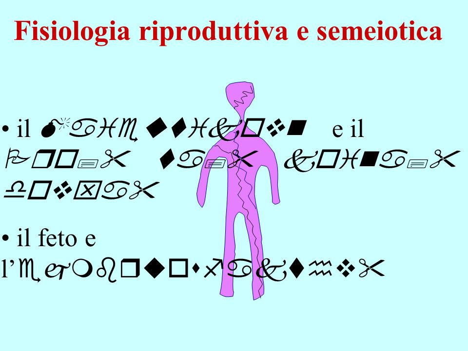 Fisiologia riproduttiva e semeiotica
