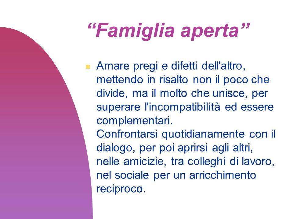 Famiglia aperta
