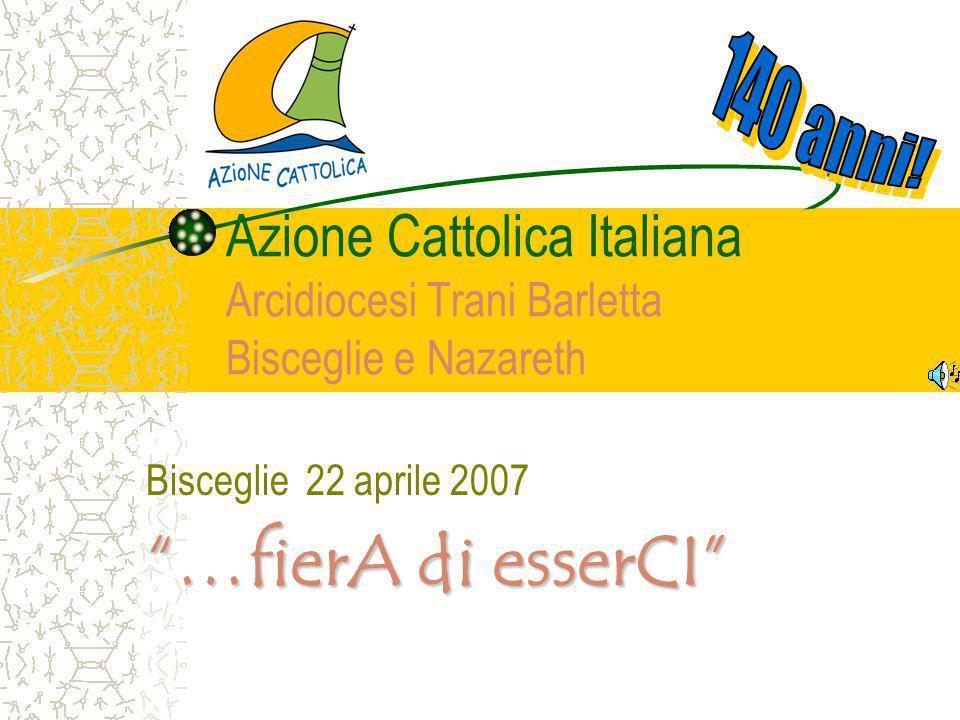 Bisceglie 22 aprile 2007 …fierA di esserCI