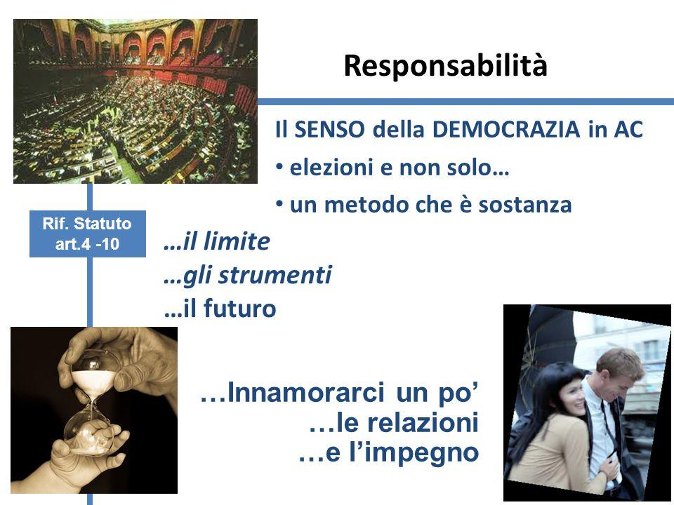 Responsabilità …il limite …gli strumenti …il futuro