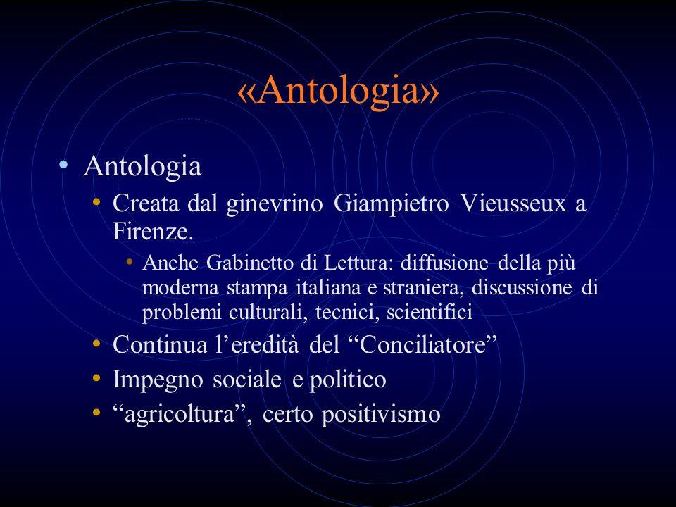 «Antologia» Antologia