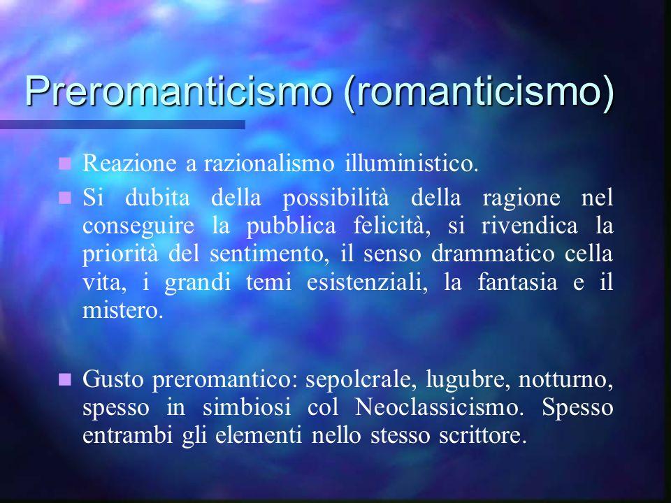 Preromanticismo (romanticismo)